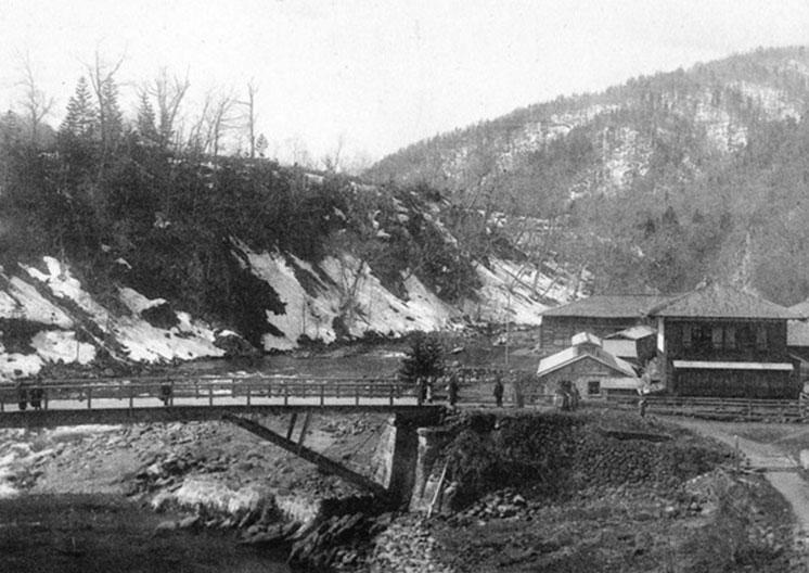 1907(明治40)年頃の定山渓